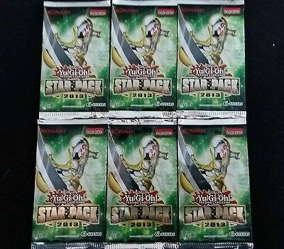 Yu-Gi-Oh- Star Pack 2013 Booster (6 booster)