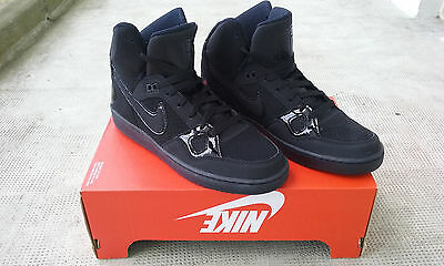 Chaussures Nike Son of Force Mid Homme Baskets Noir Neuves