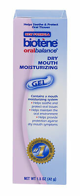 Biotene Oral Balance Dry Mouth Moisturizing Symptom Relief Gel 1.5 Oz (Pack Of 4