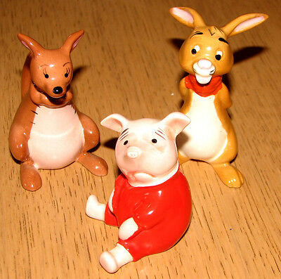 Vintage Beswick Walt Disney 'kanga' 'piglet' 'rabbit' Private Collection