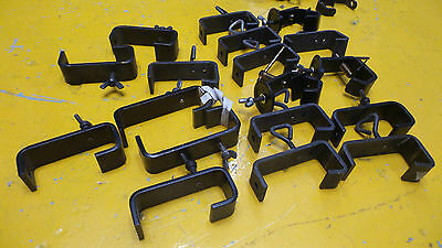 STAGE LIGHTING - 18 x Heavy Duty Hook Clamps