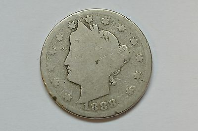 1888  5C Liberty Nickel You Be The Judge Of The Grade
