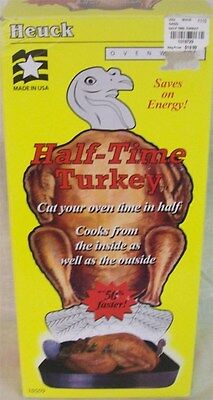 Half Time Turkey Cooker NEW IN BOX Cooks Turkey From The Inside and Outside
