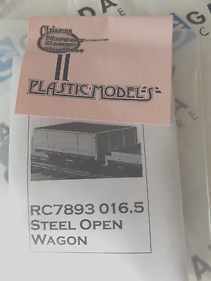 New - Chivers Steel Open Wagon  - O-16.5 / On30 Ref 153