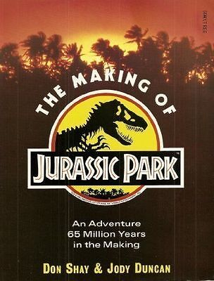 The Making of Jurassic Park, Duncan, Jody Paperback Book