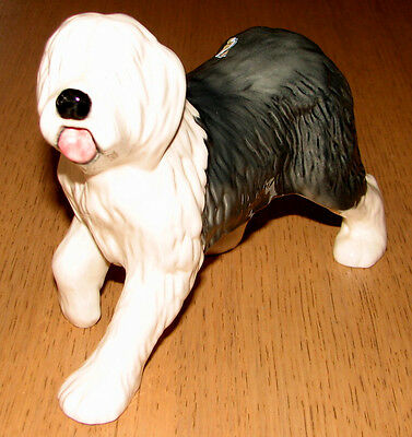 Vintage Beswick Large Old English Sheepdog Pristine Condition Private Collection