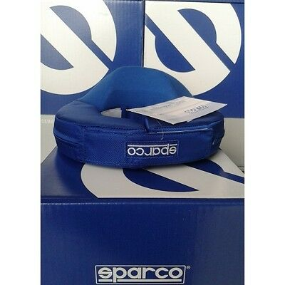 Collare Supporto Casco Kart Sparco Bambino Blu Neck Support Collar Karting Chil