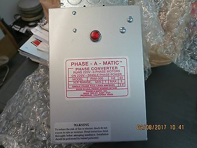 Phase-A-Matic 1-3 H.p. Static Phase Converter