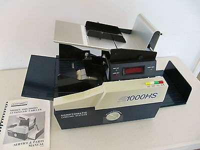 Scriptomatic Model 1000HS Automatic Labeler, Used, Good Condition! Direct Mail