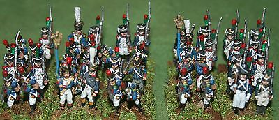 15/18mm Napoleonic French Imperial Guard Infantry, AB miniatures, pro painted