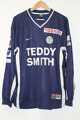Montpellier 2000-2001 Match Worn Home Shirt Large #33 Nike