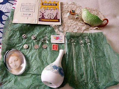 vintage mixed collectables bits and bobs