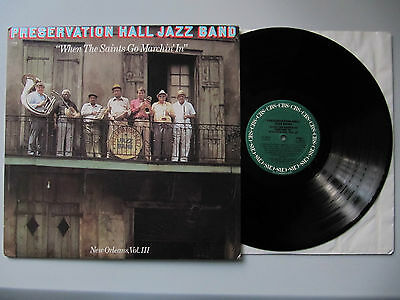 PRESERVATION HALL JAZZ BAND When The Saints... 1983 CBS - Concert Sale Only LP