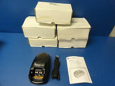 Motorola WPLN4114AR Impres Radio Battery Chargers, for XTS5000, XTS3000 Lot of 6
