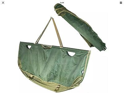 Ngt 350 Quick Folding Compact Heavy Duty Weighing Sling In Case For Carp Fishing