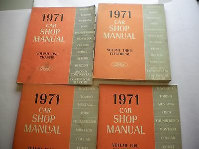 Ford Shop Manuals-1971 Shop Manuals--Chassis, Electrical, Body & Maintenance