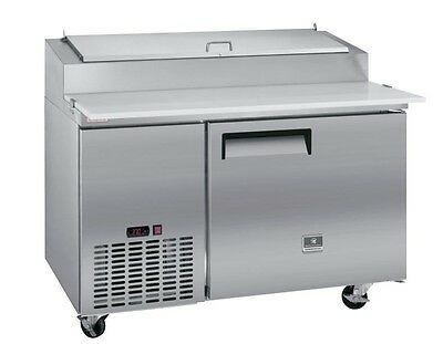 Pizza Prep Table, one section, 9 CuFt capacity, Kelvinator KCPT50.6