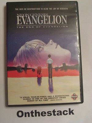 Neon Genesis Evangelion: The End of Evangelion (DVD, 2002)