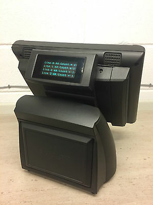 PAR EverServ 6000 POS Terminal M7125 Epos System wit Customer Display Core 2 Duo