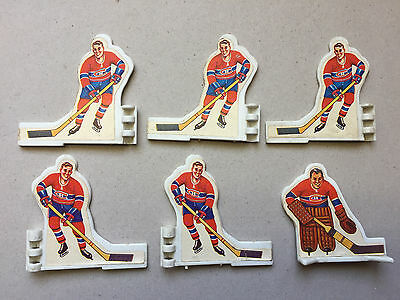 Coleco Table Hockey Players 1970's Montreal Canadiens NHL