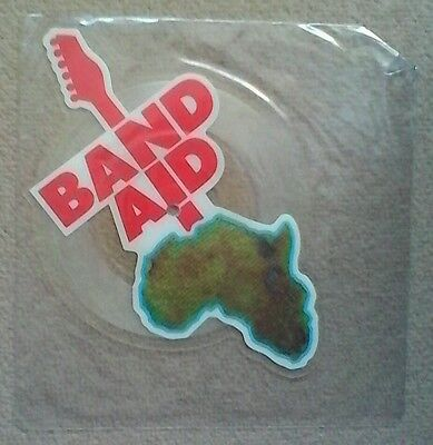"""""""Band Aid"""" shaped picture disk"""