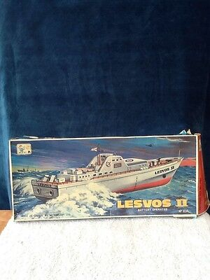 Vintage Model Boat Battery Operated 1979