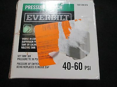 Everbilt 40/60 Pressure Switch for Well Pumps