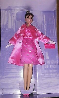 1998 Barbie Audrey Hepburn as Holly Golightly in Breakfast at Tiffany's PINK