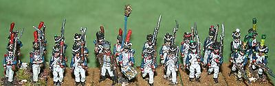 15/18mm Napoleonic French Line infantry , AB miniatures, pro painted (2)
