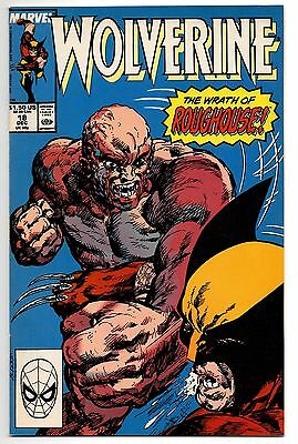 Wolverine Marvel Comics #18 Dec 1989 The Wrath of Roughouse