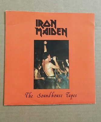 Iron Maiden The Soundhouse tapes rare 7 inch vinyl