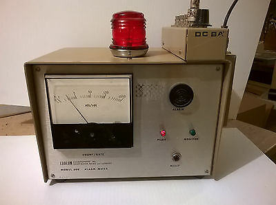 Ludlum  Model 300  Area  Monitor Alarming Meter