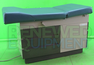 Midmark Ritter 104 Patient Exam Table Station w/ Drawers and Strirups #2