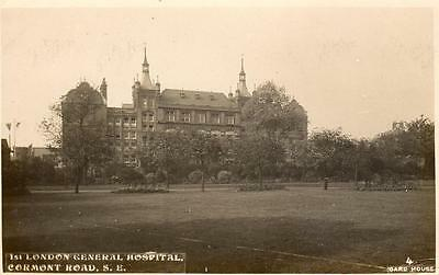 1st London General Hospital (B) Cormont Road Camberwell unused RP pc Card House