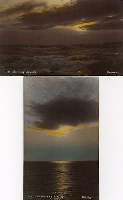 2 Orkney Peace of Eventide Blowing Squally unused RP pcs Wells Leonard's Series