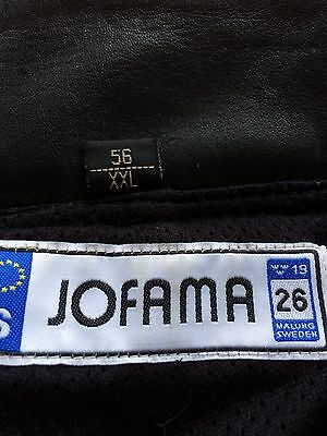Jofama XL motorcycle Trousers Leather And Textile By Halvarssons Lindstrands