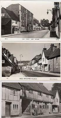 3 West Wycombe High Street Old Inn unused RP old pcs