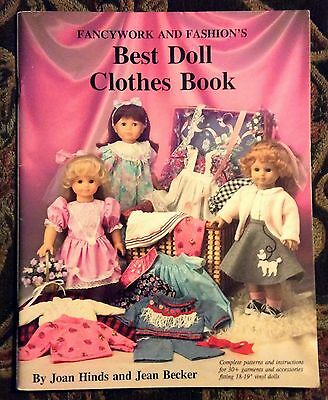 Fancy and Fashion's Best Doll Clothes Book, Hinds and Becker