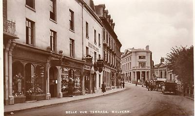 Belle Vue Terrace Shop Great Malvern unused RP pc Pelham
