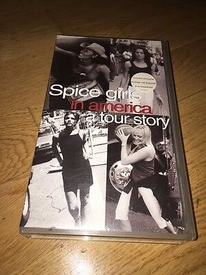 "Spice Girls:::""in America, A Tour Story"":::vhs / Video:::1999:::victoria Beckham"
