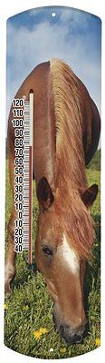Heritage America by MORCO 375H Horse Outdoor or Indoor Thermometer, 20-Inc...NEW