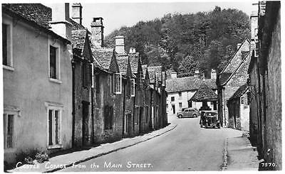 Castle Combe from Main Street unused RP old pc RA Series