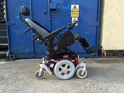 Quickie Salsa M, Mwd, 4Mph, Electric Wheelchair, Powerchair Scooter Mobility