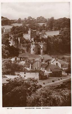 Chepstow from Tutshill RP pc used 1954