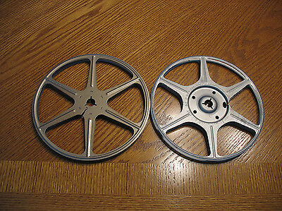 Two 400 ft. Super 8mm reels with canisters