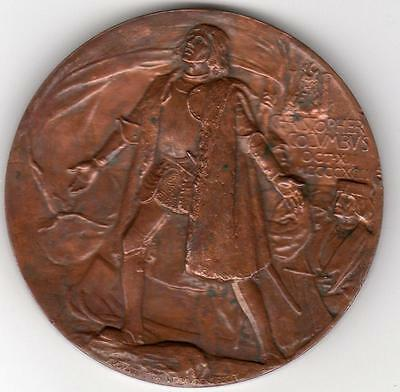 Christopher Columbus Medal 1892/3 400 years Anniversary for Chicago Worlds Fair