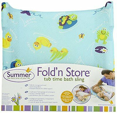 Summer Infant Fold 'n Store Tub Time Bath Sling...NEW