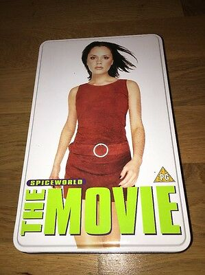 Spice Girls:::victoria Beckham:::spiceworld Vhs Tin:::limited Edition:::video
