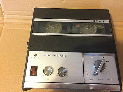 RARE, SONY O-MATIC Reel-To-Reel TAPECORDER TC-900S