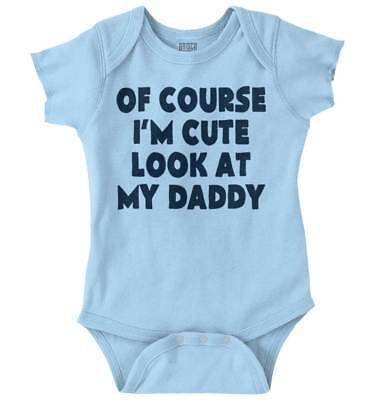 I'm Cute New Parents Baby Shower Gift Funny Saying Baby Romper Bodysuit